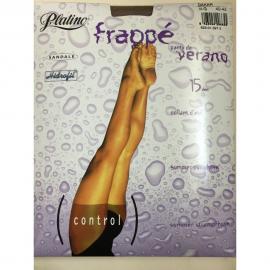 15  PLATINO FRAPPÉ PANTY CONTROL DEN 523.366.6 C.CARESSE