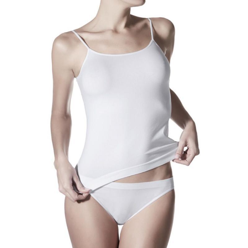 4a7f96ebf4fce Janira Day Cotton Camiseta Tirantes 1045044 T.Xl Blanco - la Media ...